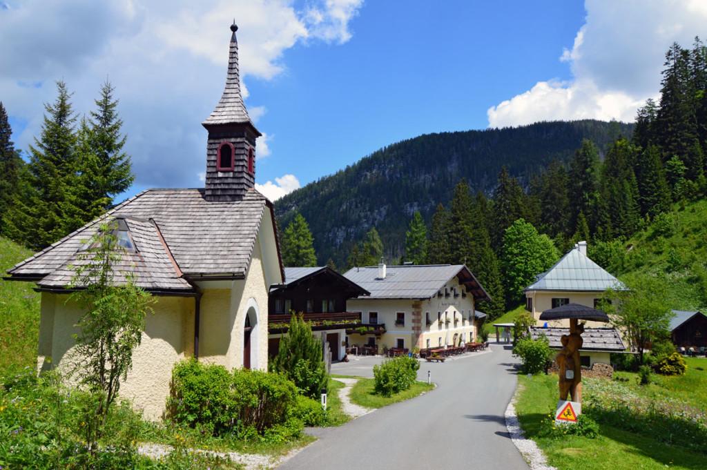 Der Hirschbichl: Grenzübergang Bayern Österreich
