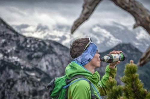 Höhenrausch Stirnband und Gipfelbier: EIne unschlagbare Kombination