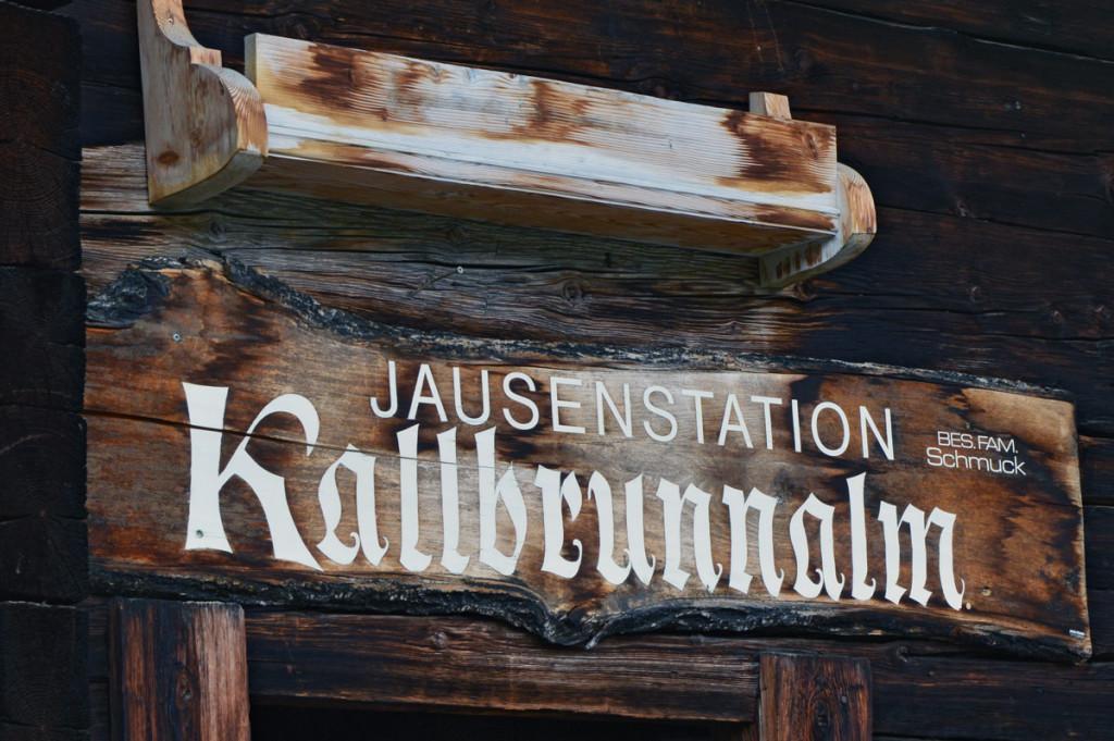 Jausenstation Kallbrunnalm