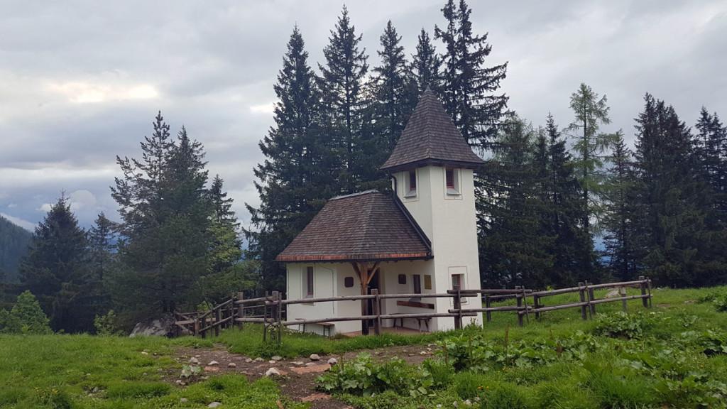 Kapelle St. Bernhard auf Kühroint