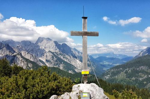 Der Litzlkogel: Aussichtsreicher Gipfel
