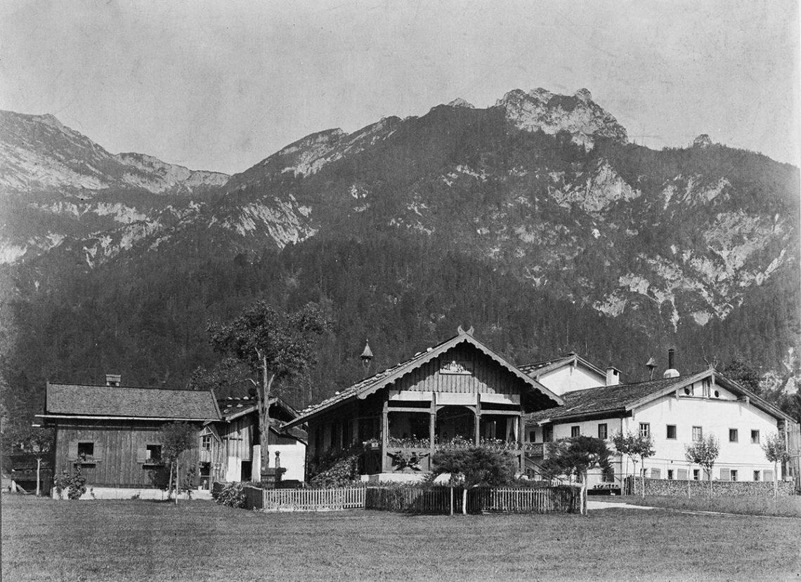 Das Pfaffenlehen in Bischofswiesen 1908