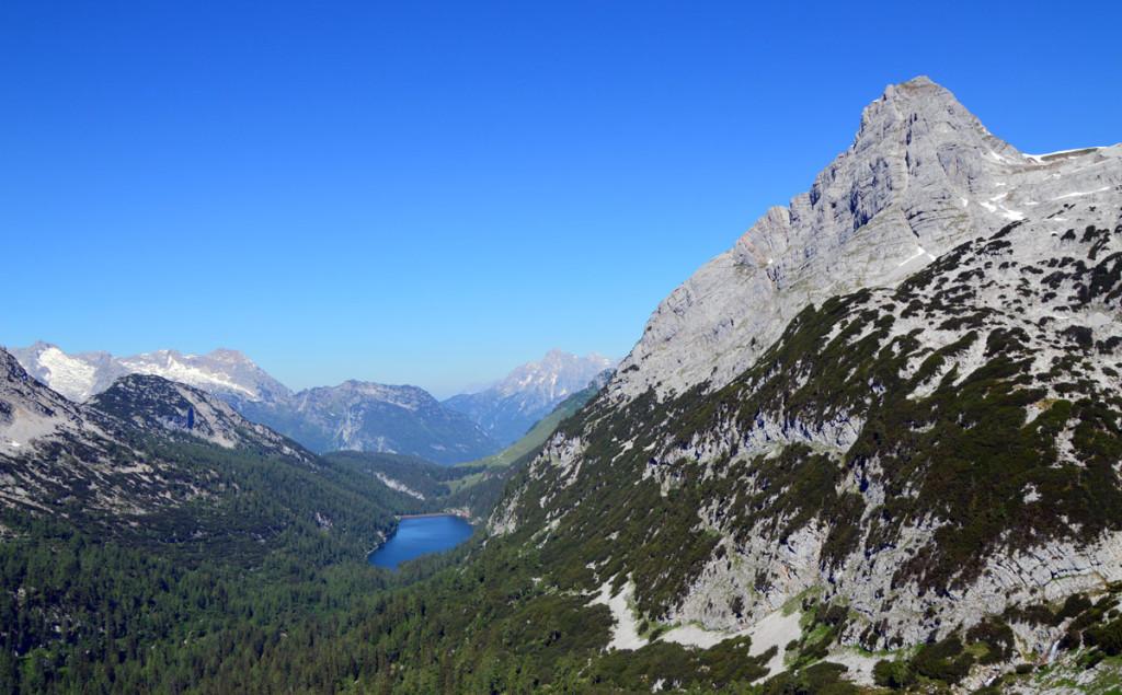 Der Dießbachstausee und das Seehorn