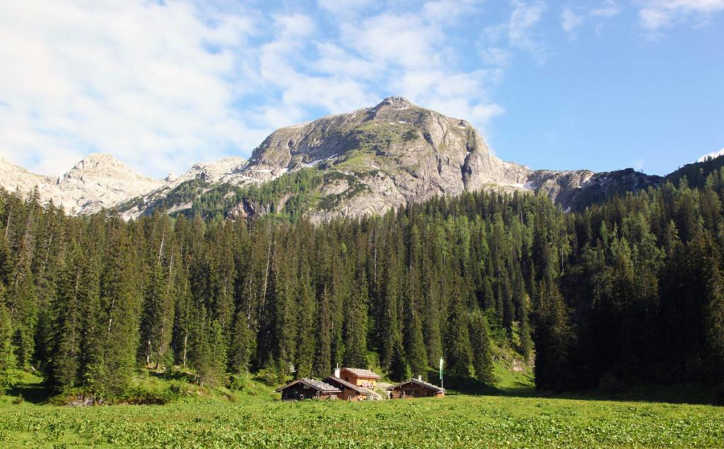 Die WAsseralm im Nationalpark Berchtesgaden