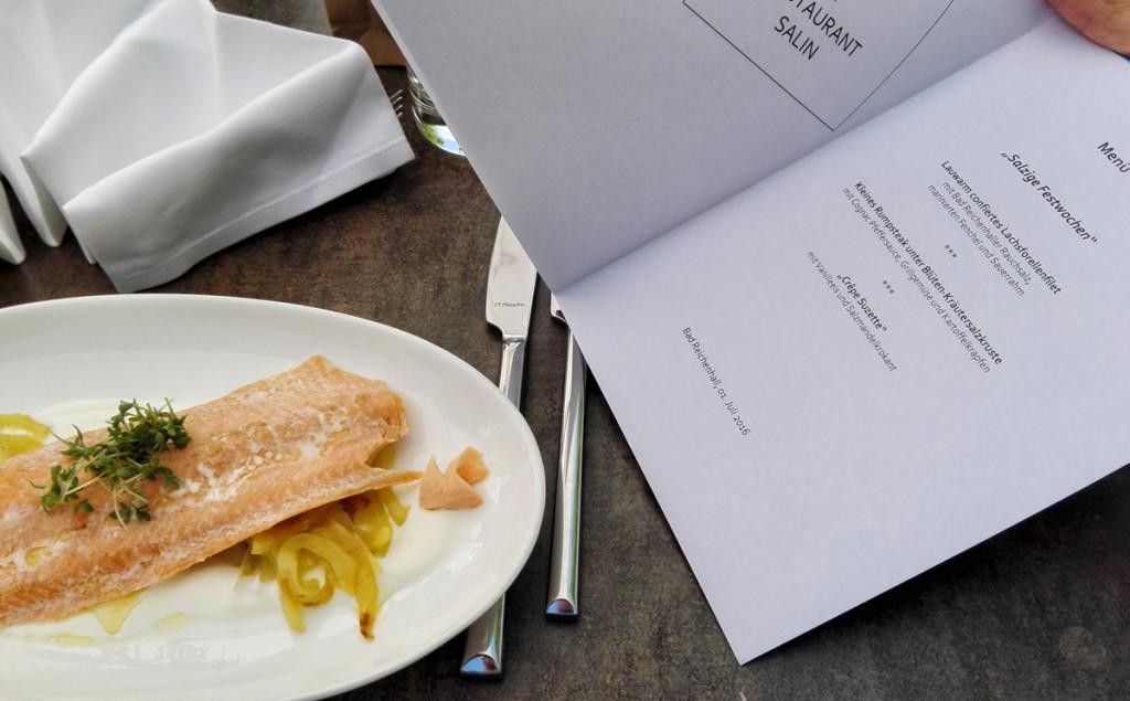 Alpenstadt Küche im Salin Bad Reichenhall