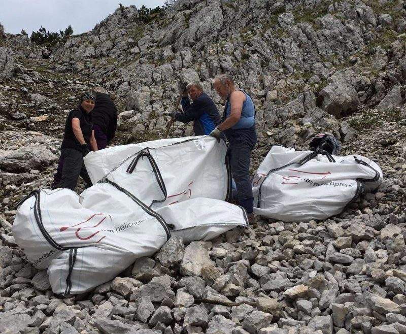 Arbeitsaktion der Mittwochsgruppe des Alpenvereins Berchtesgaden