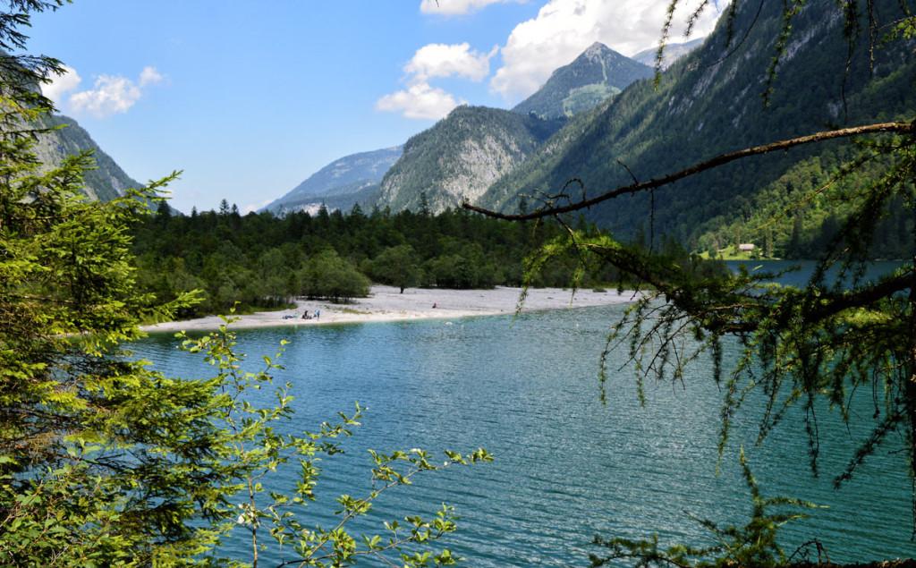 Erfrischend: Ein Bad im Königssee