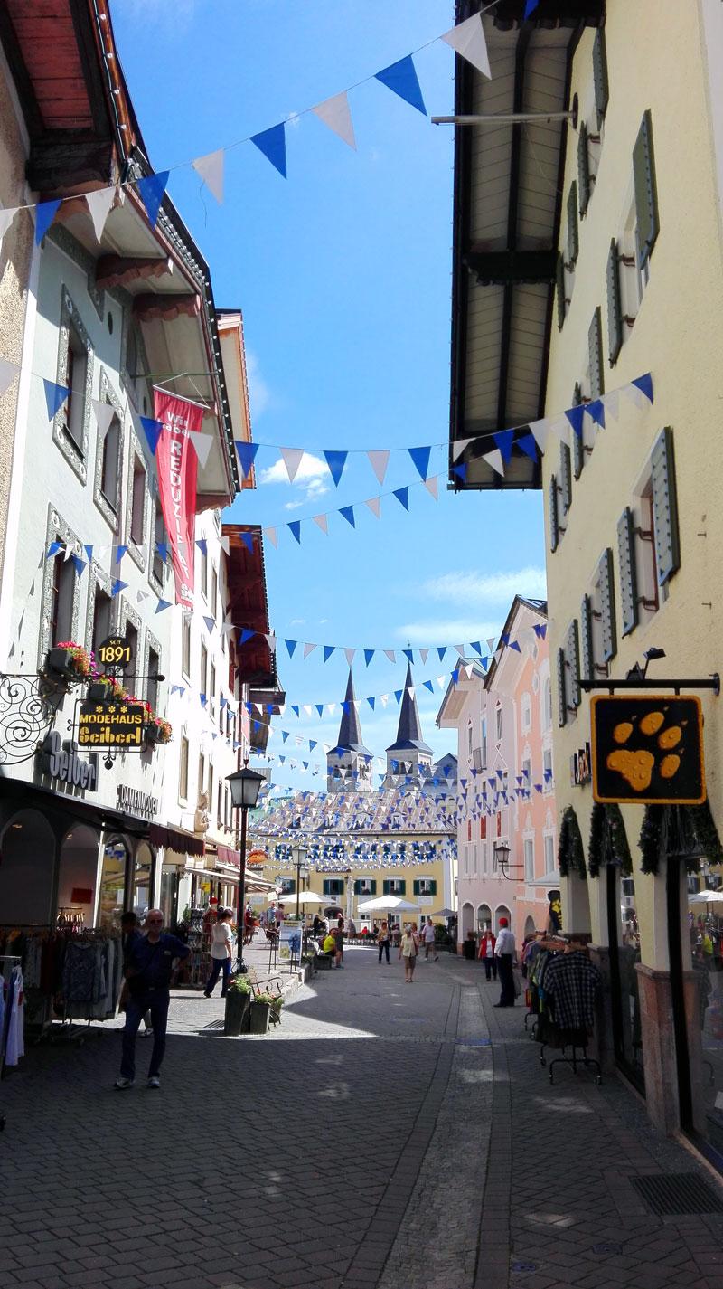 Berchtesgadener Fußgängerzone