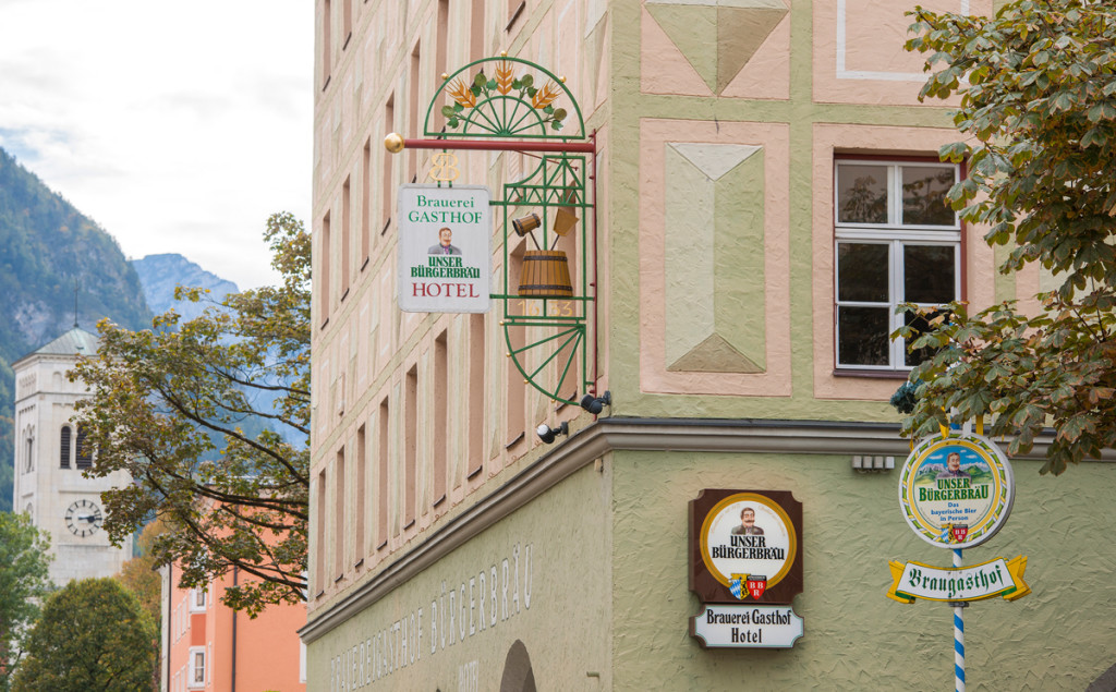 Brauereigasthof Bürgerbräu Bad Reichenhall