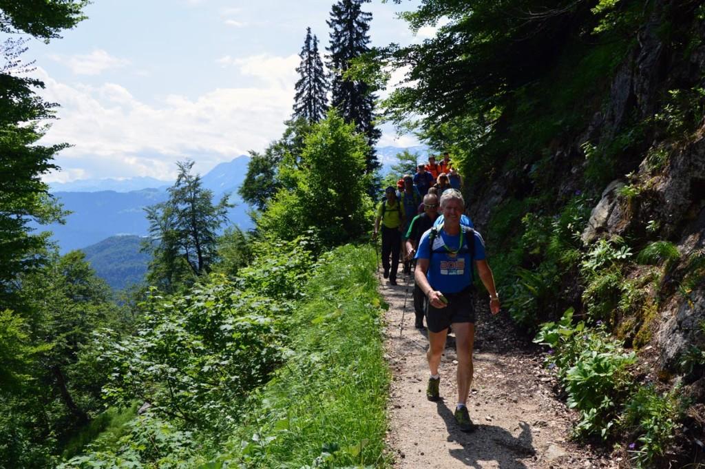 Eddy Balduin, der Masterguide der 24h Untersberg extrem Wanderung