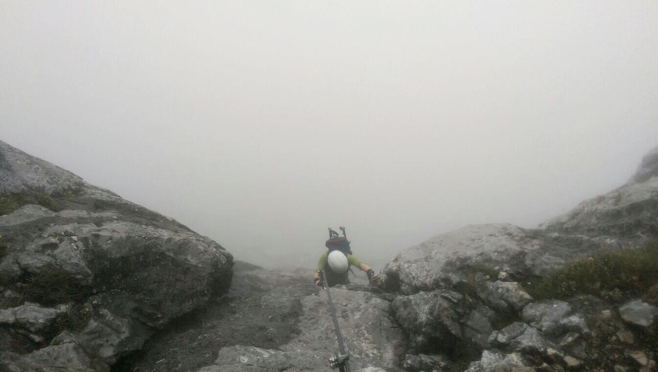 Klettersteig Untersberg : Mystische momente am berchtesgadener hochthronsteig