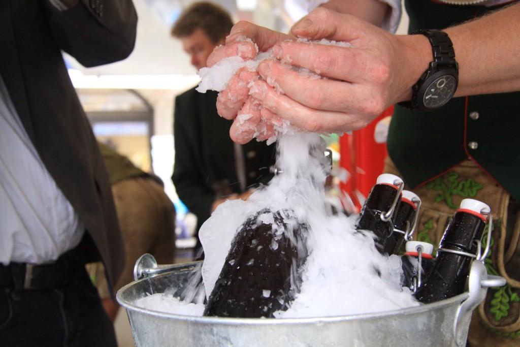 Das Hofbrauhaus Berchtesgaden präsentiert den Eisbock