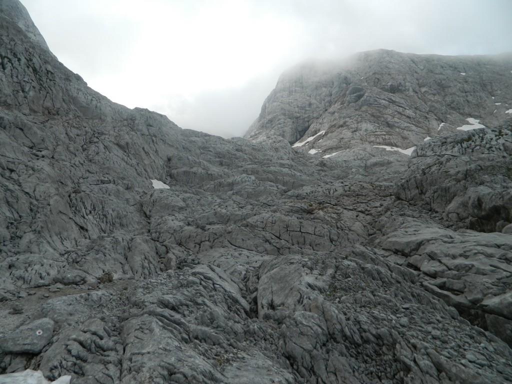 Typisches Aufstiegsgelände im Umgäng
