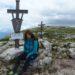 Am Gipfelkreuz des Schneibsteins