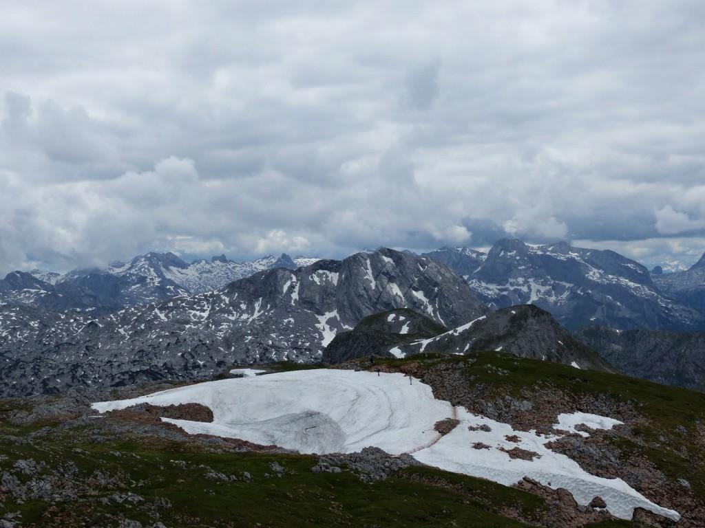 Blick ins Hagengebirge