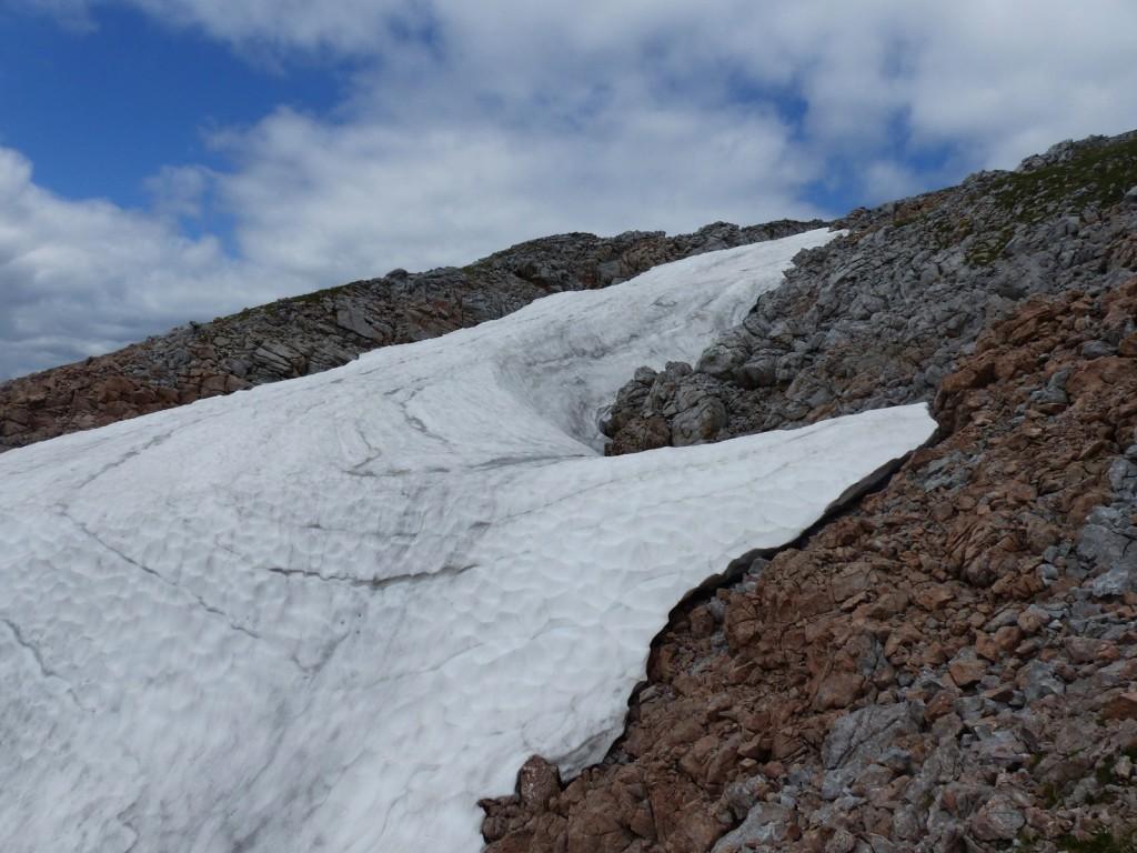 Altschnee im Hagengebirge