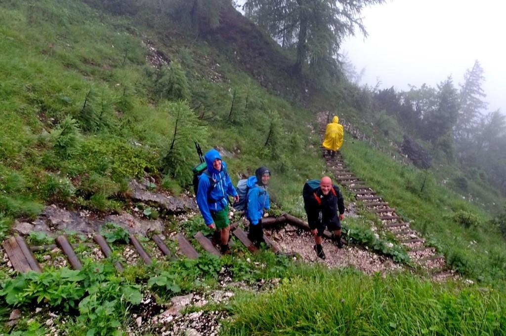 Über den Reitsteig vom Untersberg ins Tal © Andi Wiesinger