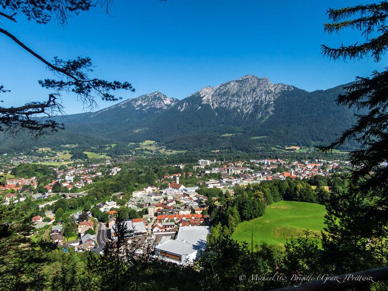 Sommer in der Alpenstadt Bad Reichenhall