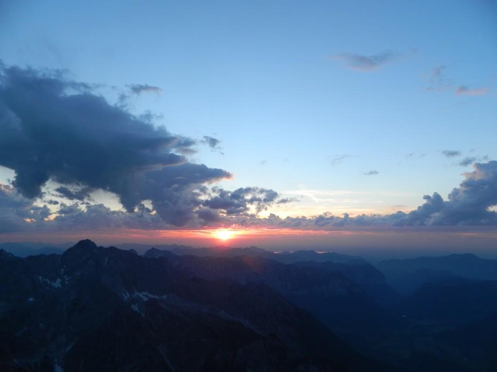 Sonnenuntergang Watzmann 2