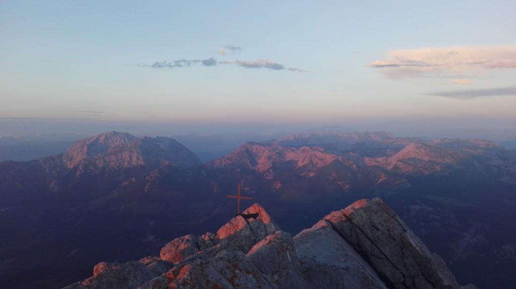 Sonnenuntergang Watzmann 4