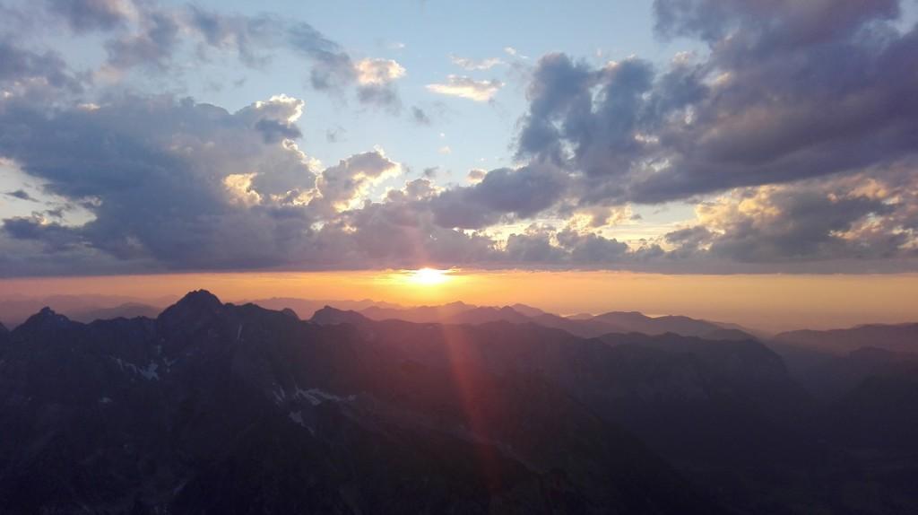 Sonnenuntergang Watzmann3