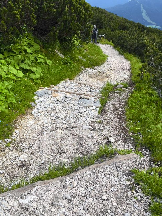 Der sanierte Stöhrweg © DAV Berchtesgaden