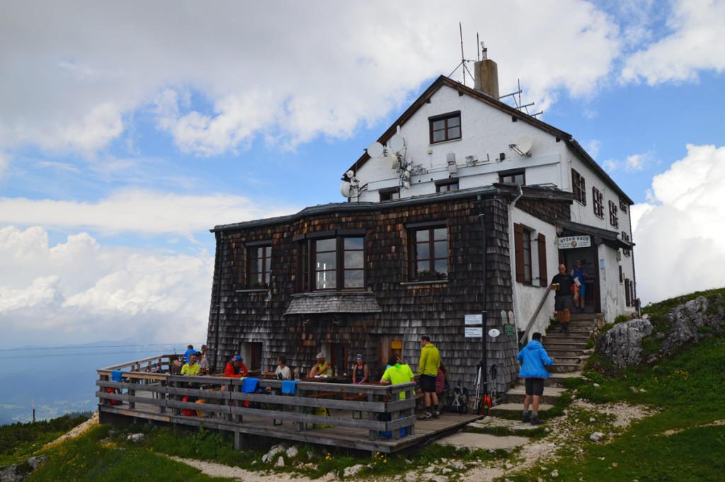 Das Stöhrhaus auf dem Untersberg