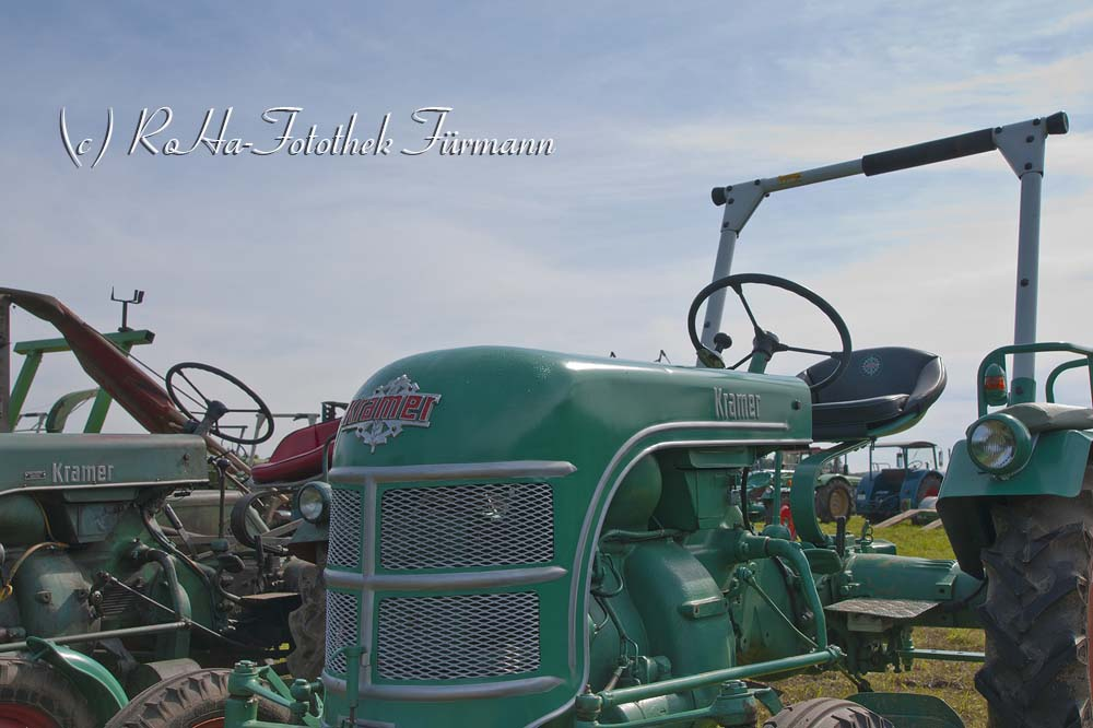 Oldtimer - Traktor - Bulldog -