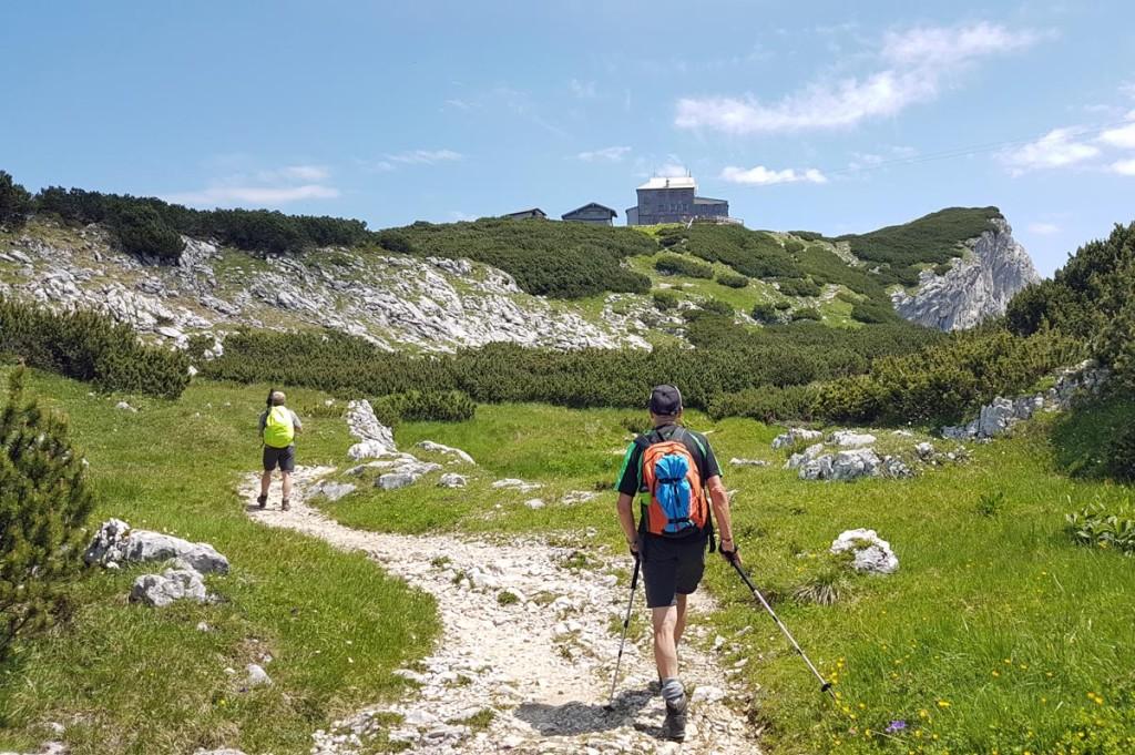 Der Weg zum Stöhrhaus auf dem Untersberg
