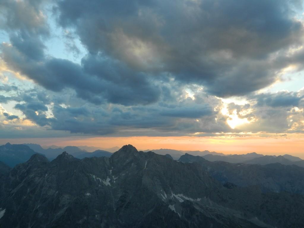 Watzmann Sonnenuntergang
