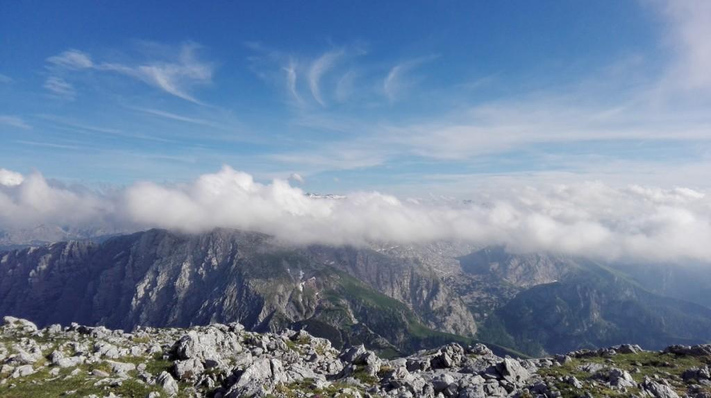 Wolken am Hohen Brett