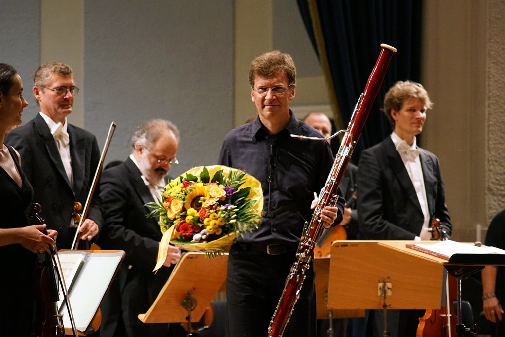 Dag Jensen erntet seinen verdienten Applaus - Foto: Erich Steindl