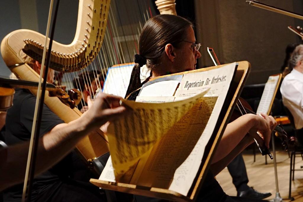 Die Bad Reichenhaller Philharmonie ist stets gefordert bei der Alpenklassik - Foto: Erich Steindl