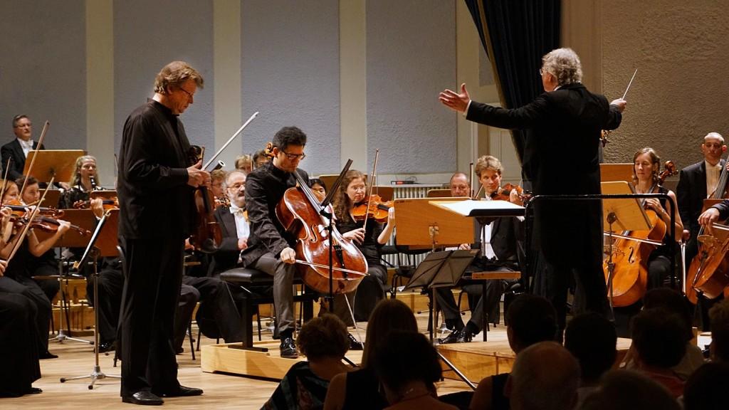 Die beiden Solisten für das Doppelkonzert - Ulf Wallin und Wen-Sinn Yang - Foto: Erich Steindl