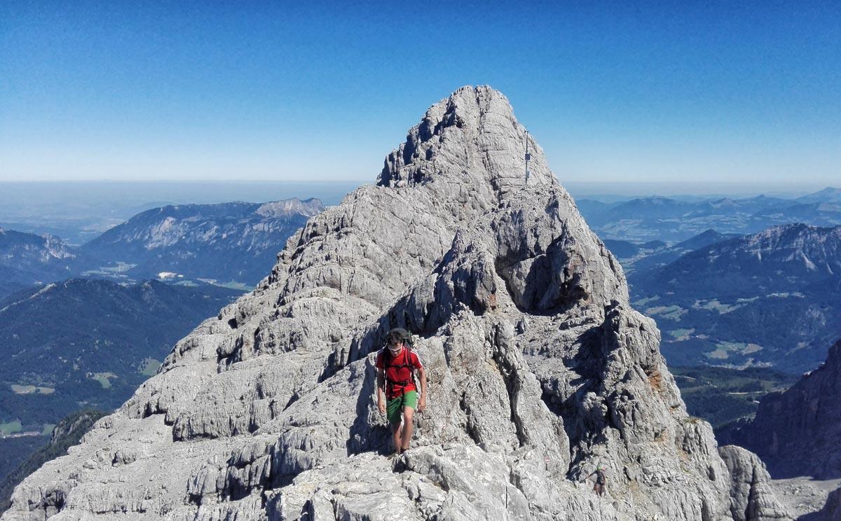 Klettersteigset Watzmann : Watzmann Überschreitung archive berchtesgadener land