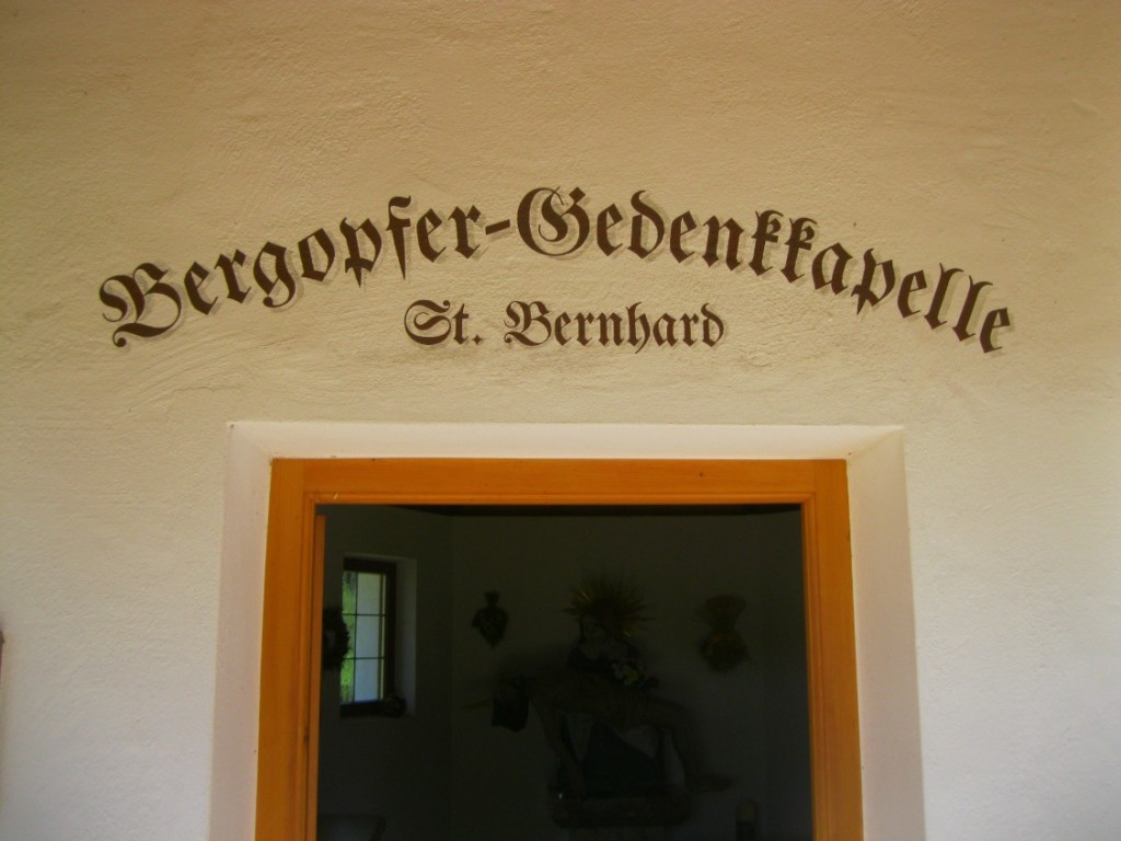 St. Bernhard Gedenkkapelle