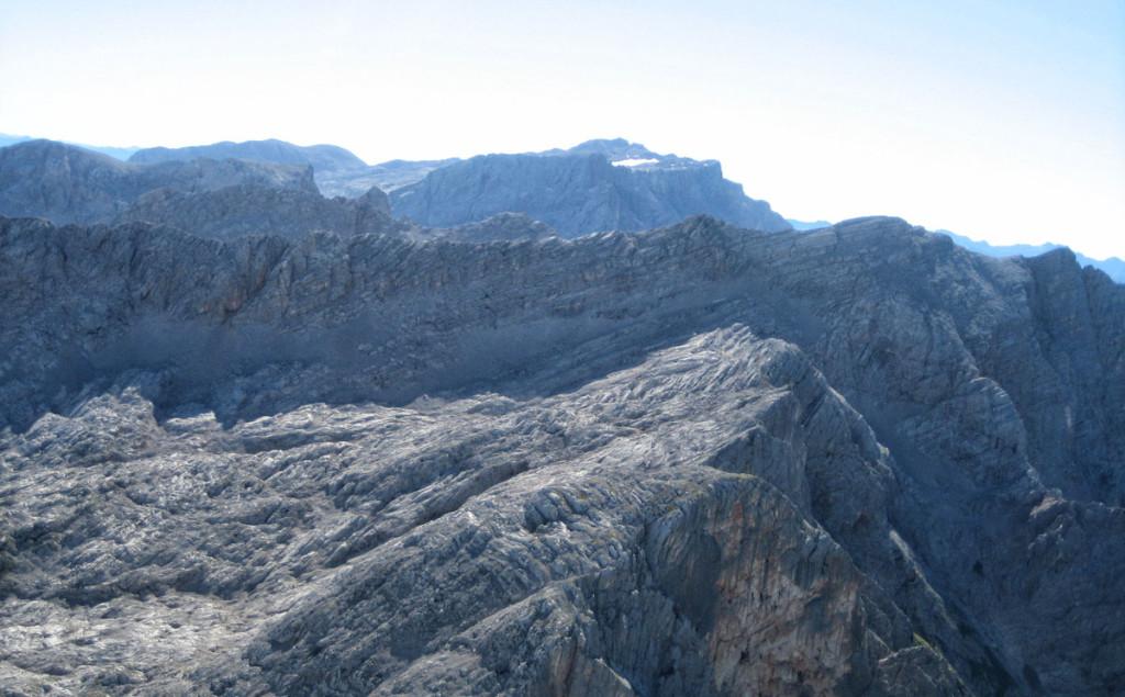 Blick von der Schönfeldspitze zum Hochkönig