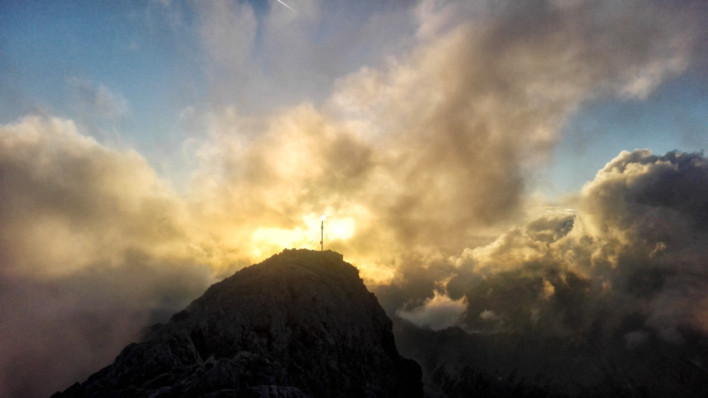 Großer-Hundstod-Sonnenuntergang