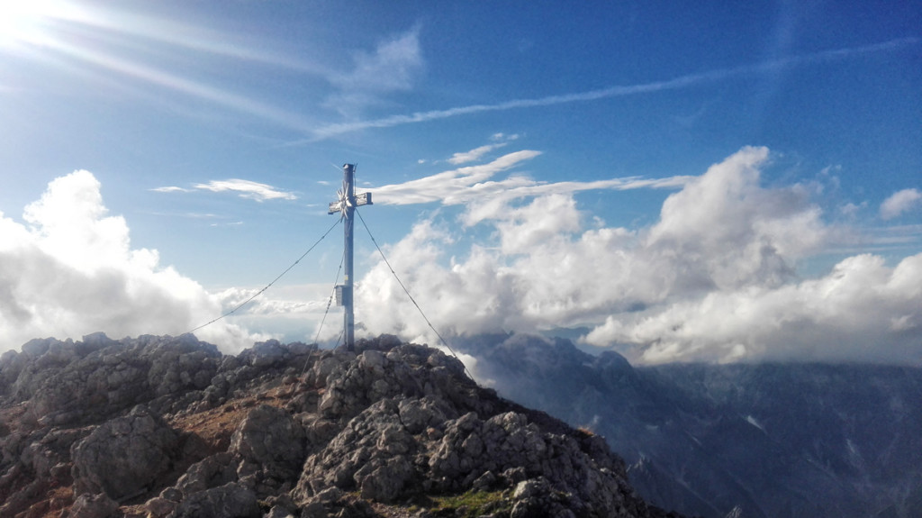 Hundstod-Gipfelkreuz