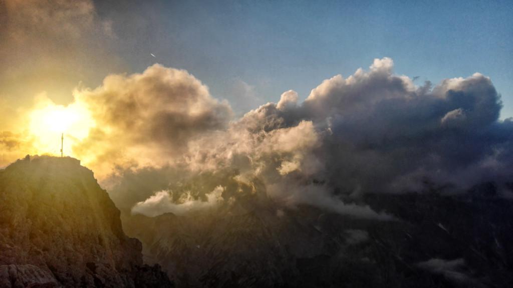 Hundstod-Sonnenuntergang