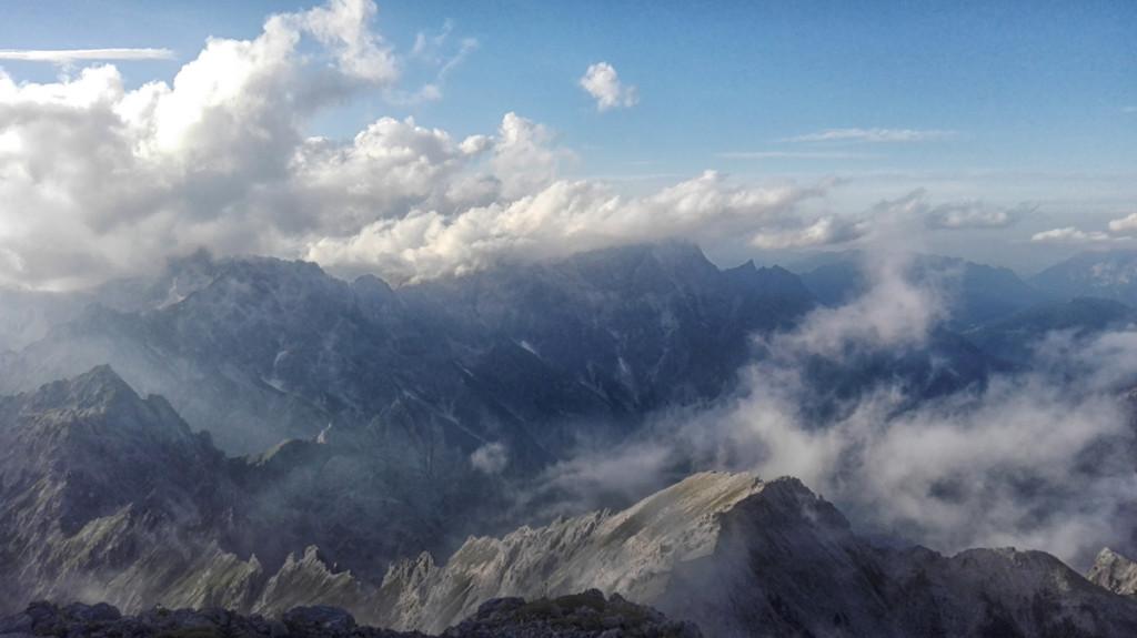 Hundstod-Wolkenspiel