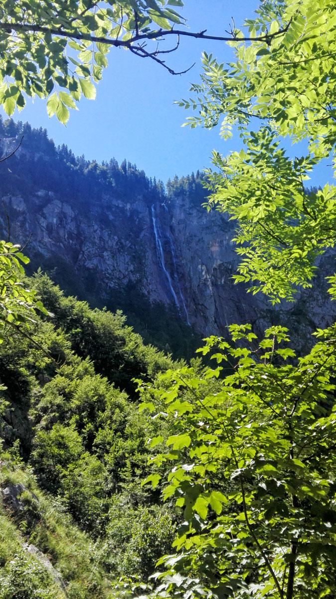 Der Röthbach-Wasserfall