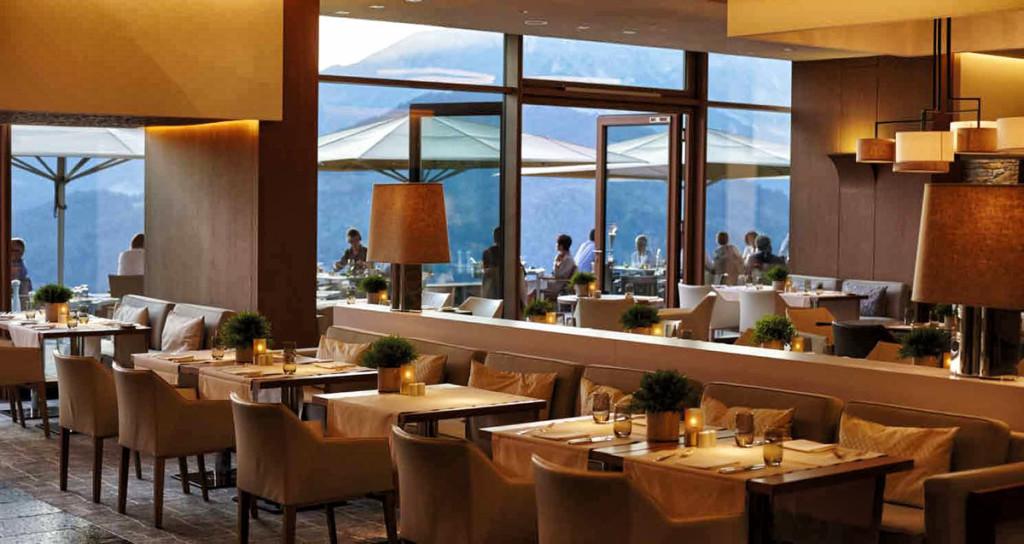 Restaurant Johann Grill im Kempinski Berchtesgaden