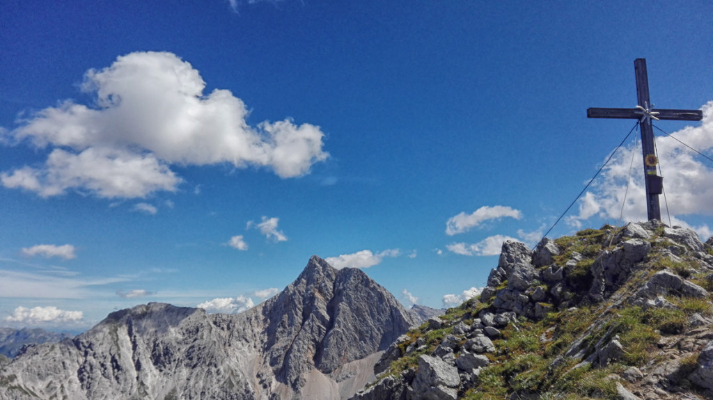 Seehorn-Gipfelkreuz