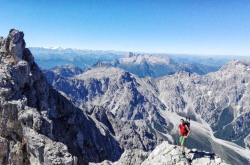 Watzmann-Überschreitung zwischen Mittel-und Südspitze