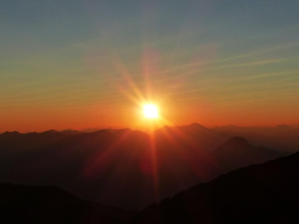 Sonnenaufgang © Ann-Kathrin Helbig