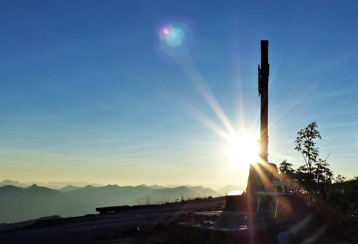 Sonnenaufgang am Kehlstein © Ann-Kathrin Helbig