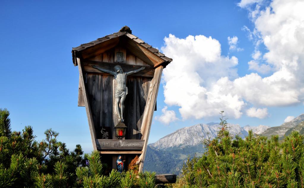 Das Almkreuz auf der Gotzen