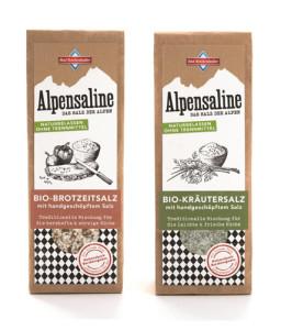 Bio-Kräutersalz oder Bio-Brotzeitsalz von der Alpensaline