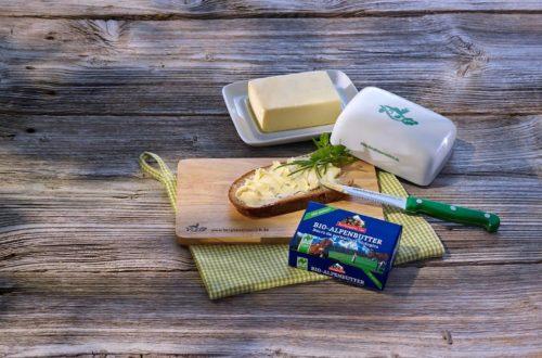 Die Bio-Alpen-Butter der Molkerei Berchtesgadener Land